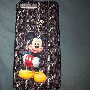 Accessories - MICKEY MOUSE x GOYARD IPHONE 8PLUS CASE